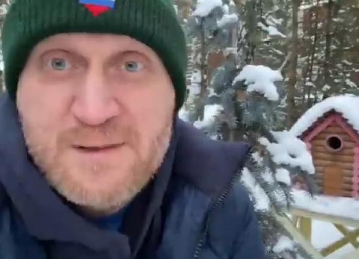 Андрей Рожков примерил на себя роль полярника