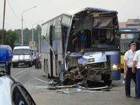 ДТП в Краснодарском крае: 28 человек пострадало, 1 погиб.