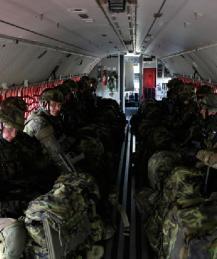 СМИ: замерзавшим в Эстонии бельгийским солдатам прислали теплую одежду