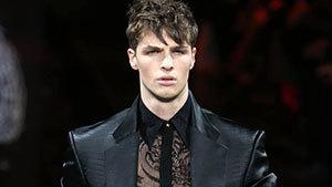 Мужское кружево Versace