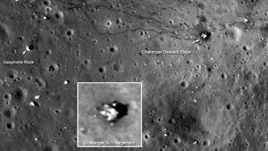 Американские астронавты наследили на Луне