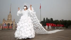 Свадебные платья: жесть, трэш и перья