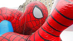 Гигантские воздушные шары на улицах Нью-Йорка