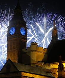 Новогодние фейерверки со всего света