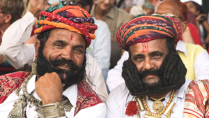 Конкурс бородачей в Индии