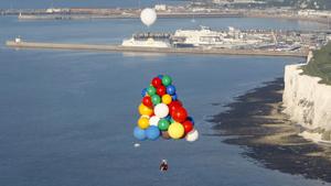 Воздушный круиз на шариках