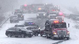США терзают холод и снежные бури