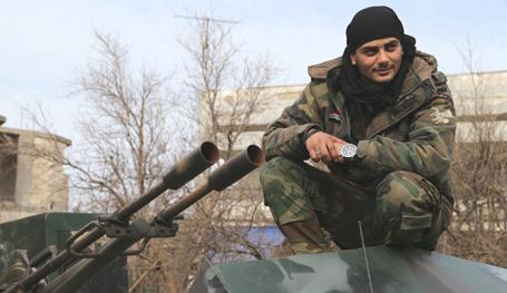 """Сирия: Кто такие """"Соколы пустыни"""""""