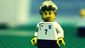 Дэвид Бэкхем стал героем LEGO