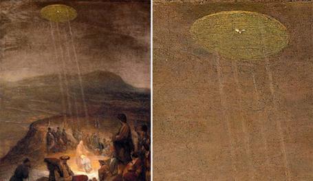 НЛО фиксировали даже иконописцы