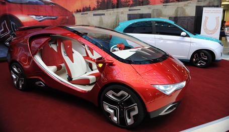 Первый российский гибридный автомобиль