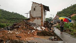 """Китай во власти тайфуна """"Соулик"""""""