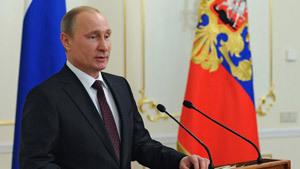 Владимир Путин стал человеком года в России