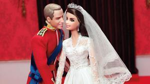 Принц Уильям и герцогиня Кэтрин стали Кеном и Барби