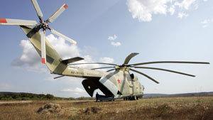 Винтокрылый богатырь Ми-26