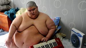 Самый толстый юноша в мире