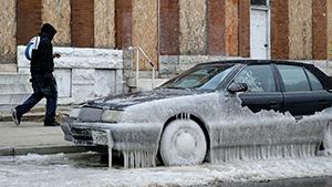 Аномальные морозы в США убили больше 20 человек
