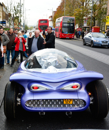 Автомобиль мечты: космотрон из хлама