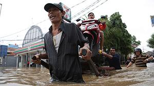 Филиппины и Индонезия уходят под воду