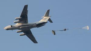 Десантирование военной техники