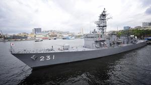 Отряд боевых кораблей Японии прибыл во Владивосток
