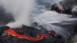 Красота и мощь вулкана