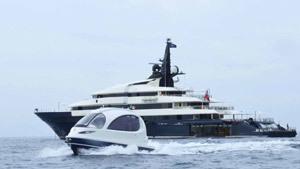 Роскошная яхта для... бедных