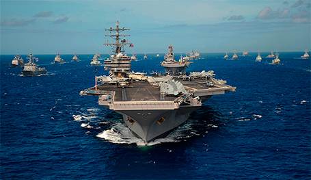 Авианосцы — короли флота