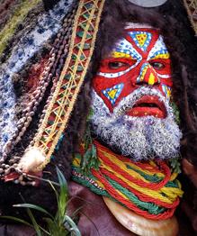 Карден по-африкански, или Боди-арт по-черному