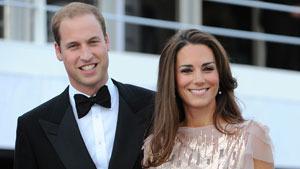 Принц Уильям и герцогиня Кэтрин на благотворительном ужине