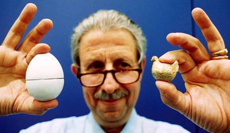 Что было раньше? Пасхальные яйца Фаберже