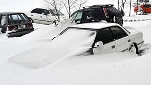 Аномальный снегопад обрушился на Камчатку