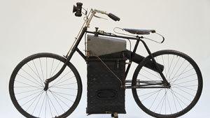Раритетный паровой мотоцикл