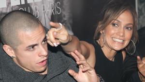 Дженнифер Лопес в ночном клубе Парижа