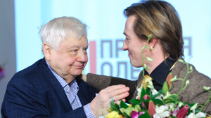 Вручение премии Олега Табакова
