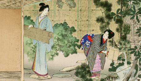 Нежная прелесть японских красавиц
