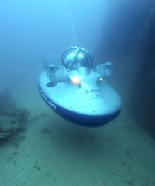 Мини-субмарины бороздят просторы океана