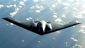 """""""Летающее крыло"""" B-2 Spirit"""