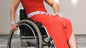 Дефиле на инвалидных колясках