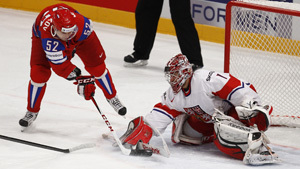ЧМ по хоккею: Россия одержала шестую победу подряд