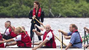 Уильям и Кэтрин: канадский экстрим