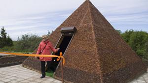 Янтарная пирамида появилась под Калининградом