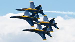 Пилотажная группа ''Голубые ангелы''