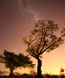 Взгляд в космос с мыса Доброй Надежды