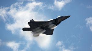 Полет F-22 Raptor