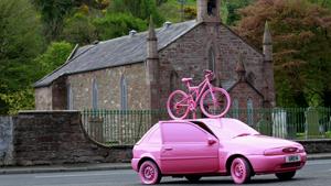 Пейнтбол на танке и розовое безумие