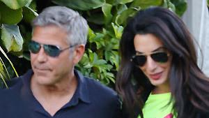 Джордж Клуни не устоял перед чарами Амаль Аламуддин