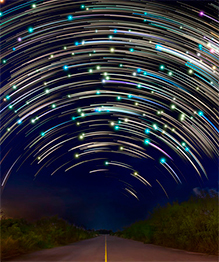 Небесные звезды тоже устраивают шоу