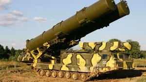 Зенитная ракетная система С-300В на страже неба