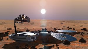 """Жизнь на Марсе пойдет от """"Викингов"""""""